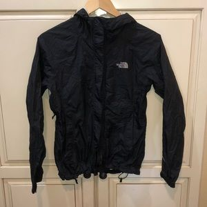 The north face raincoat